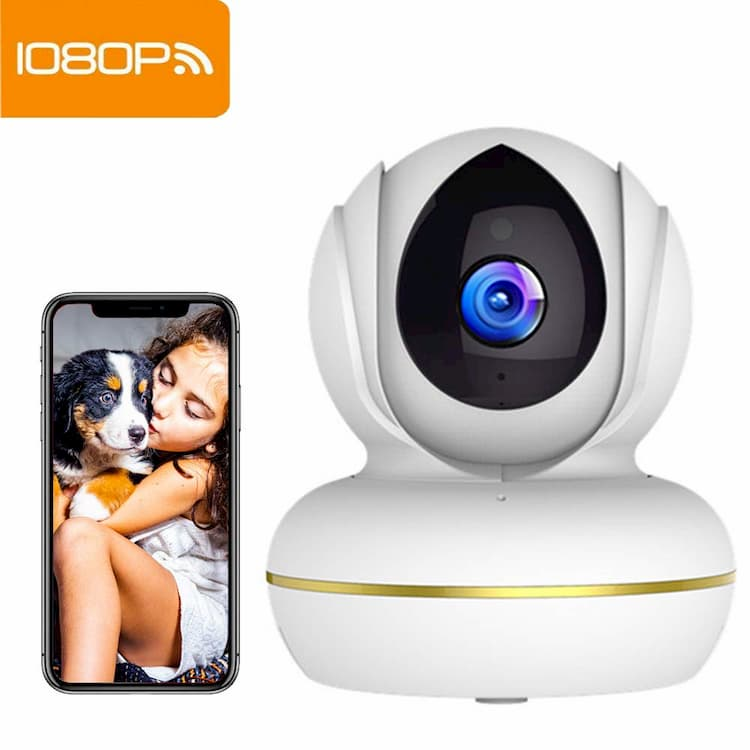 Cámara  de Seguridad IP Inalámbrica Interior Supereye 1080P D1-UK