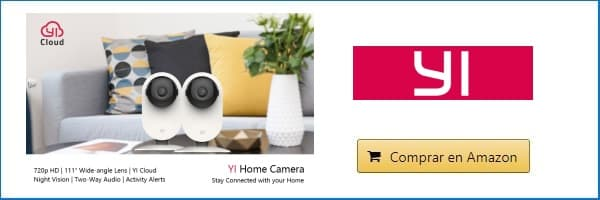 Imagen YI Home Camera 720P comprar amazon usa