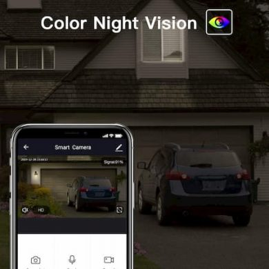 outdoor security cameras with night visión Image